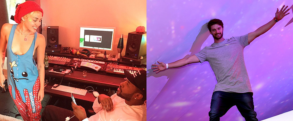 Miley Gets Racy in the Studio, as Patrick Takes On Coachella