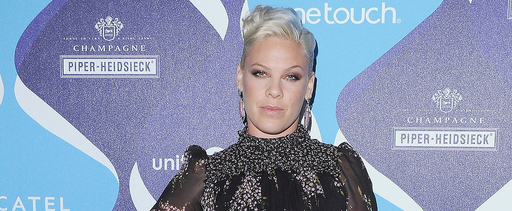 "Pink Hits Back at Her Weight Critics: ""I Feel Beautiful"""