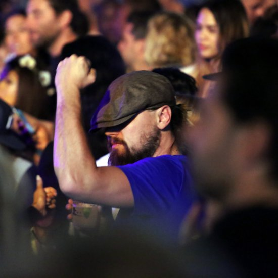 Leonardo DiCaprio Dancing at Coachella 2015