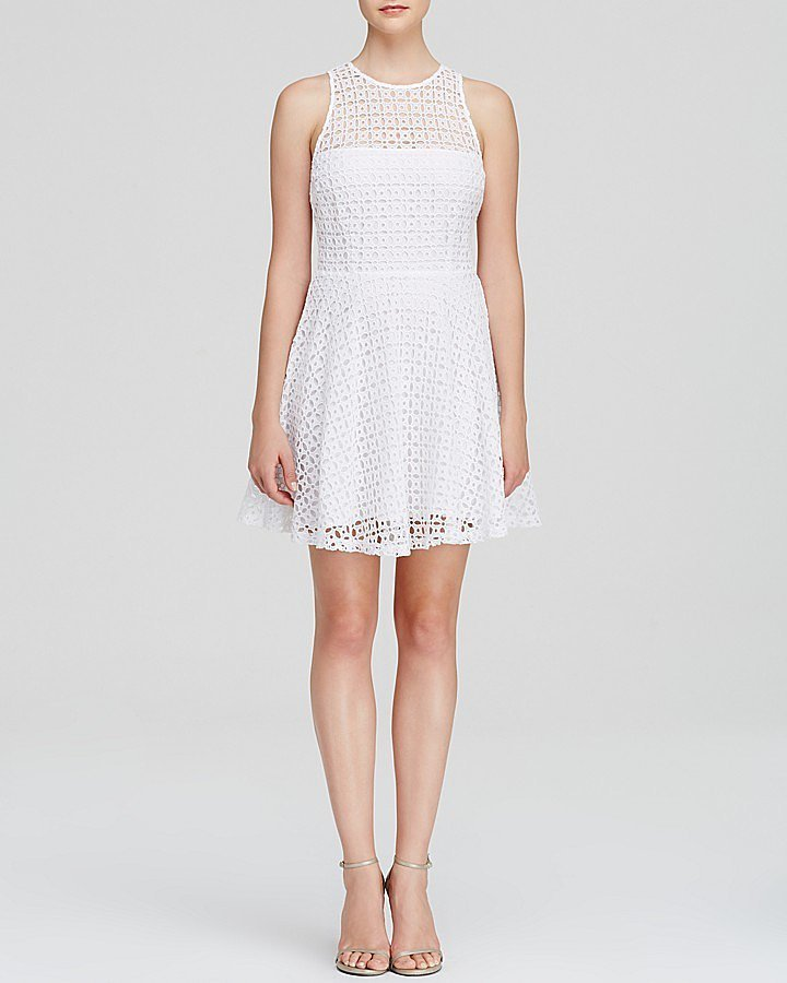 BB Dakota Lace Fit and Flare Dress ($98)