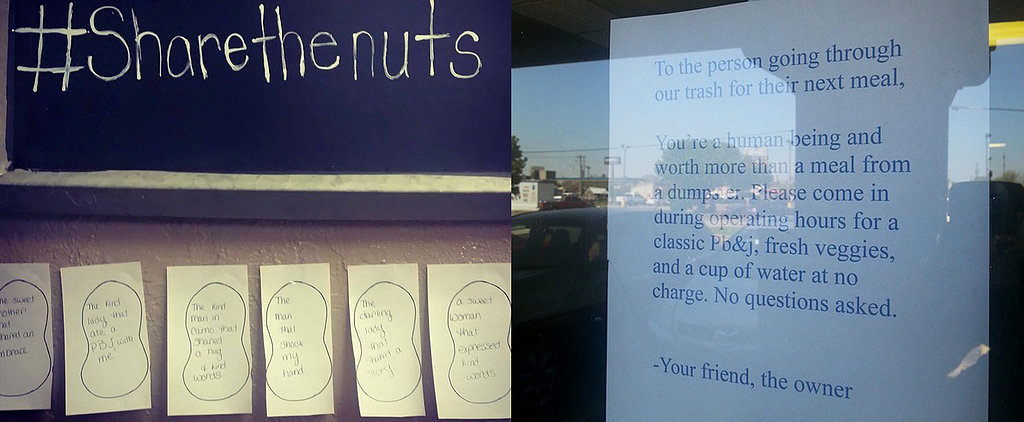 This Note From a Restaurant Owner to a Dumpster Diver Will Warm Your Heart