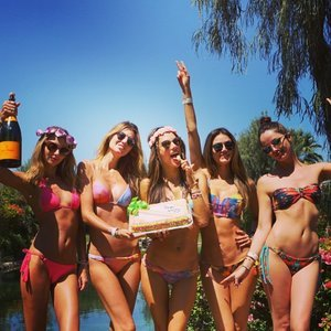 Celebrity Instagram Pictures From Coachella 2015