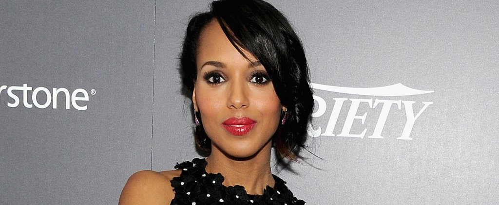"""Kerry Washington on Hillary Clinton's Presidential Candidacy: """"I'm Excited For Her"""""""