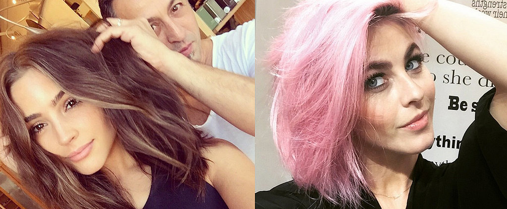 The Best Celebrity Hair Changes on Instagram So Far This Year
