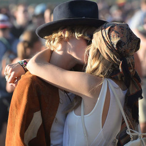 Gigi Hadid and Cody Simpson Kissing PDA at 2015 Coachella