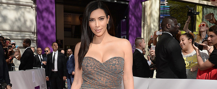 This Look Is So Not Kim Kardashian, but She's Wearing It Anyway