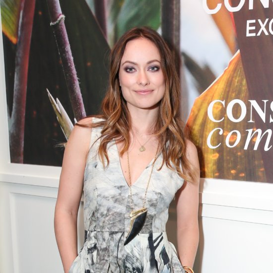 Olivia Wilde Wearing H&M Conscious Collection