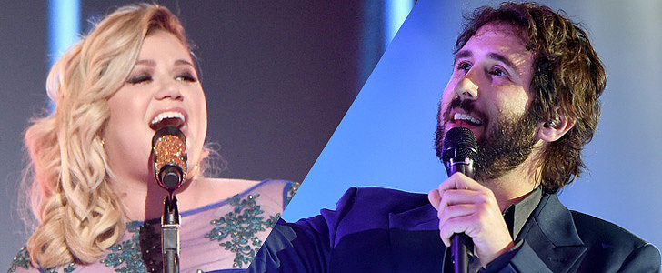 Kelly Clarkson and Josh Groban's Phantom of the Opera Duet Is Seriously Magical