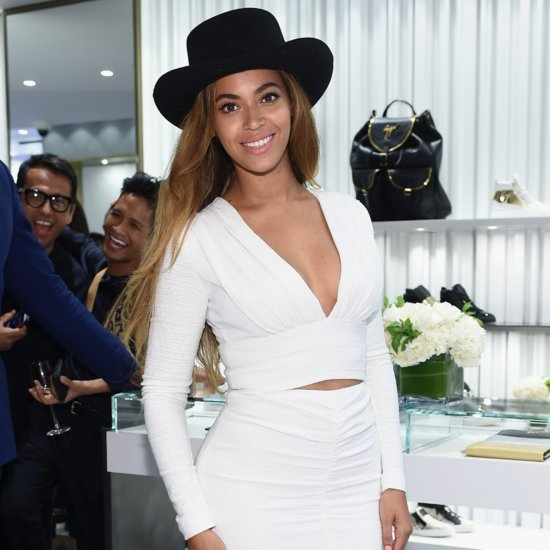 Beyonce Knowles at Giuseppe Zanotti Boutique Launch Pictures