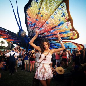 Most Liked Celebrity Instagram Pictures From Coachella