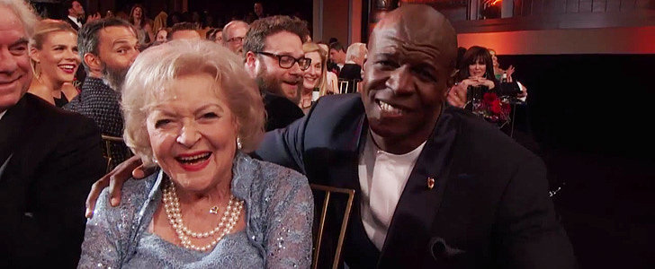 Terry Crews Serenaded Betty White With the Golden Girls Theme Song