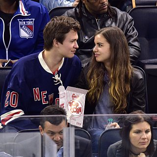 Ansel Elgort's Date Night W