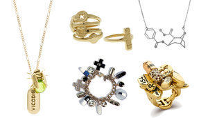 Who's Crazy Enough To Wear This Drug Jewelry?