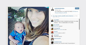 Wee Baby Timberlake Is Already Big on Instagram