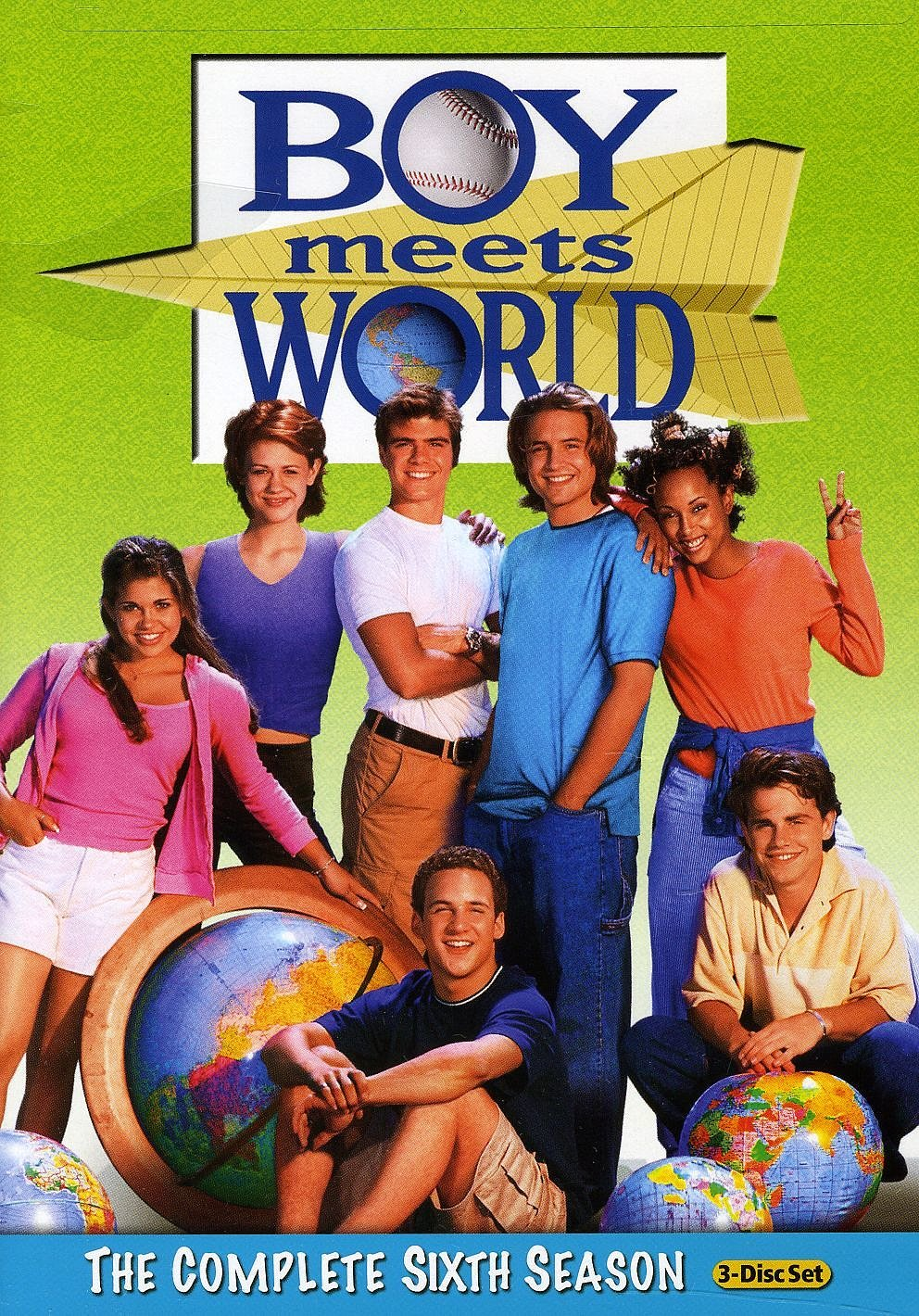And then Matthew was cast in Boy Meets World, and you were SO excited.