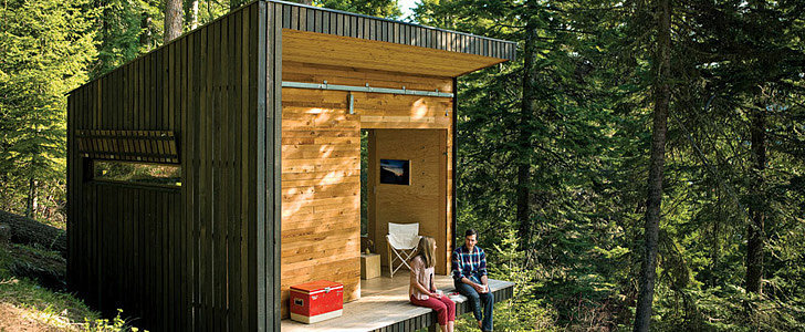 See How This Couple Built Their Own Cabin in the Woods