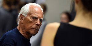 Giorgio Armani Says Gay Men Shouldn't 'Dress Homosexual'