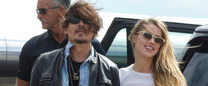Johnny Depp and Amber Heard Squash Rumors With Sweet PDA