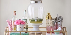 7 DIY Bar Cart Hacks That Are Cheaper Than A Round Of Drinks