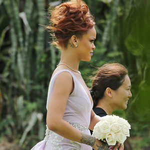 Rihanna at Assistant's Wedding in Hawaii | Pictures