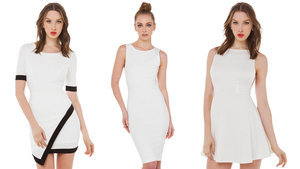 All White Dresses At ShopAKIRA Are 50% Off Today #TreatYourselfTuesday
