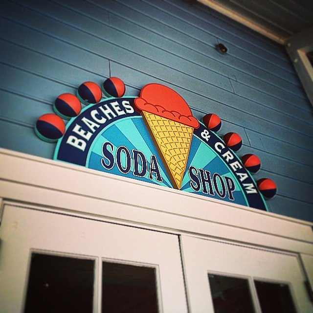 Definitely Eat at Beaches & Cream Soda Shop