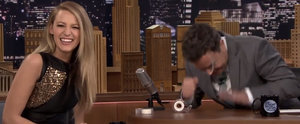 Blake Lively Laughs So Hard With Jimmy Fallon That She Snorts!