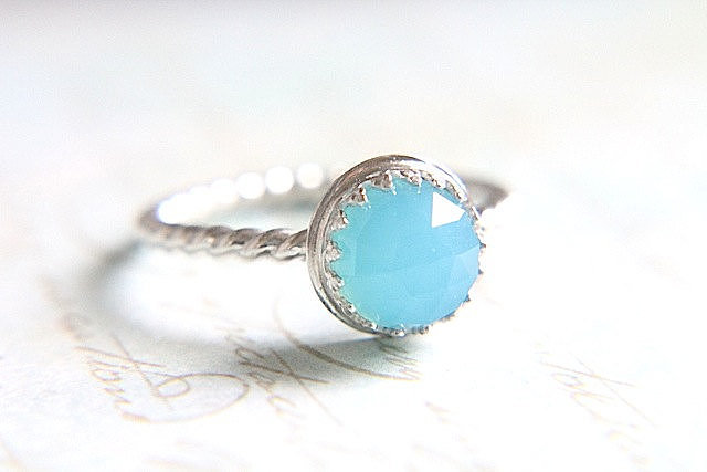 Blue Statement Ring