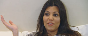 Kourtney Kardashian Freaked Out When She Thought Kim and Khloé Would Miss the Birth of Reign