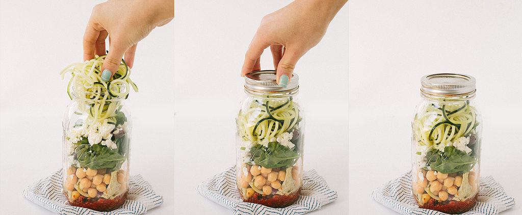Take Your Dinner on the Go With This Fabulous Sun-Dried Tomato Mason-Jar Meal