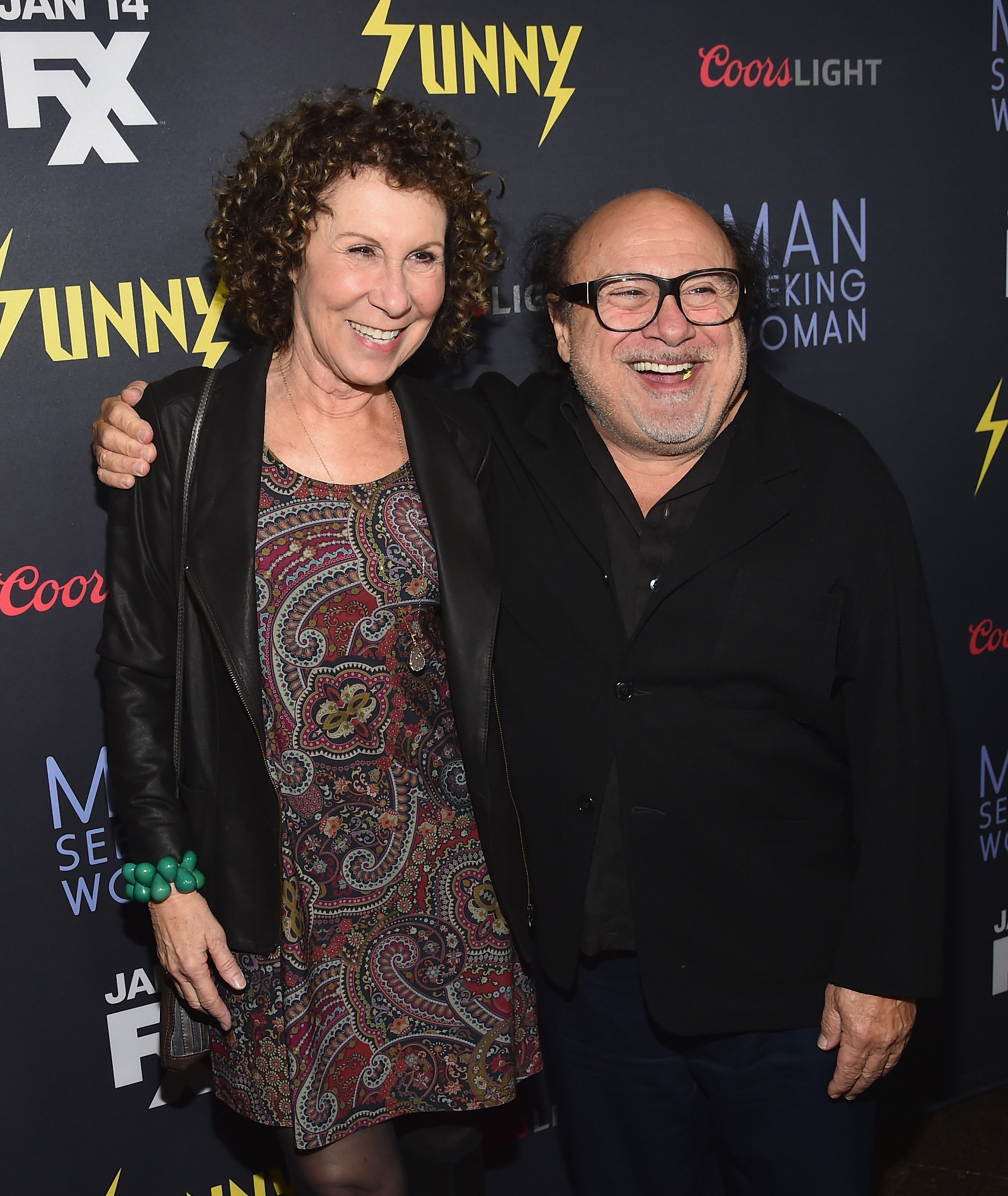 Rhea Perlman and danny devito 2016