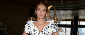 Blake Lively's Dress Is Part Wedding Dress, Part Garden Party