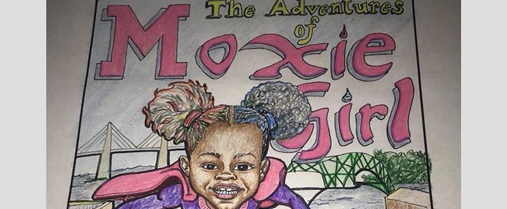 7-Year-Old Wins $16K For Her Comic Book, The Adventures of Moxie Girl