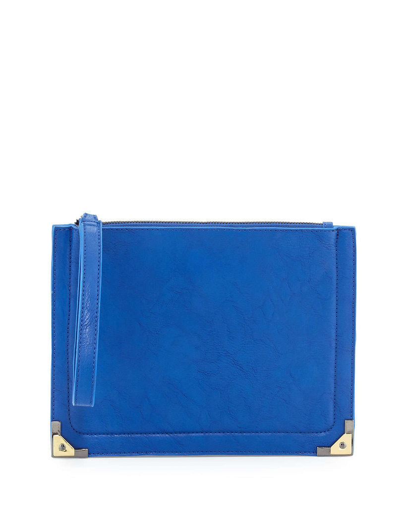 Upgrade your mom's clutch with this ultraelegant find.  Brian Atwood Danielle Nicole Nina Wristlet Clutch Bag ($42)