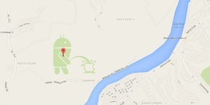 So, There's An Android Bot Peeing On An Apple Logo On Google Maps