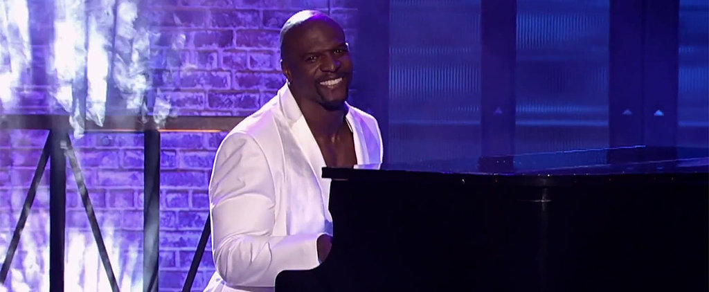 "Terry Crews Does a Perfect Lip Sync of Vanessa Carlton's ""A Thousand Miles"""