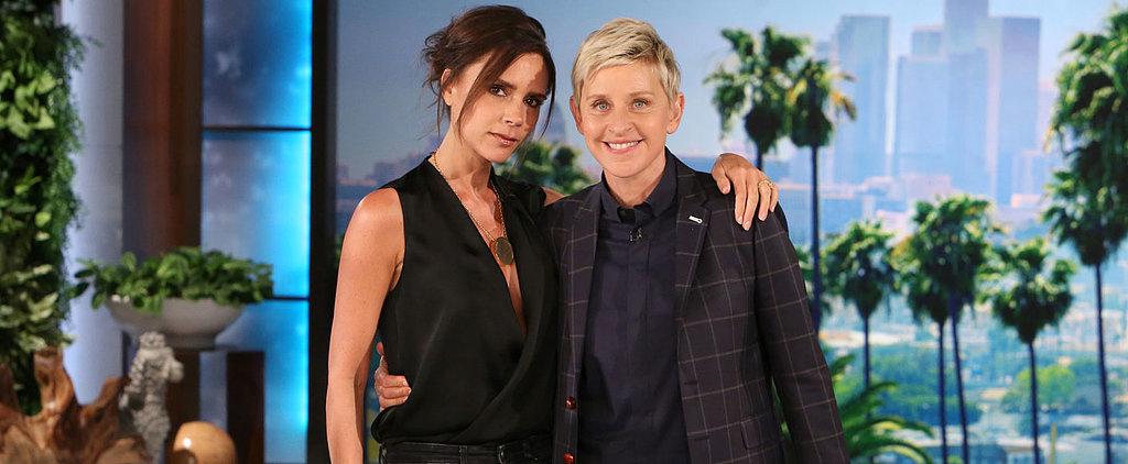 """Victoria Beckham on Daughter Harper: """"She's a Bit of a Tomboy"""""""