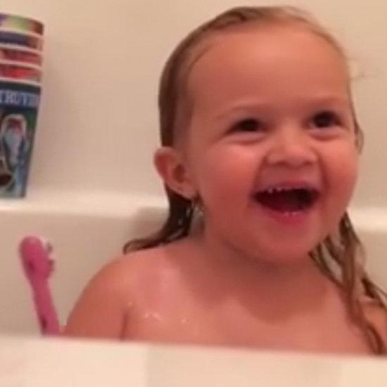 Video of Little Girl Talking About Luke Bryan