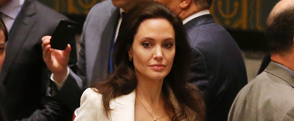 Angelina Jolie Is Stunning as She Speaks Out For Syria
