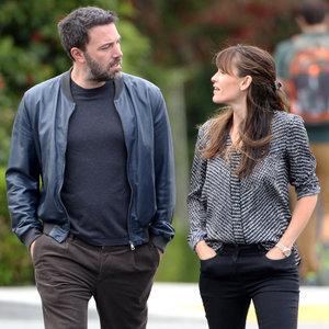 Ben Affleck and Jennifer Garner Walking Together
