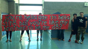 A Straight High School Student Asked His Gay Best Friend to Prom in the Cutest Way