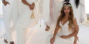 Tina Knowles' Wedding Photo Is Perfection (And Blue Ivy Is A Dancing Queen)