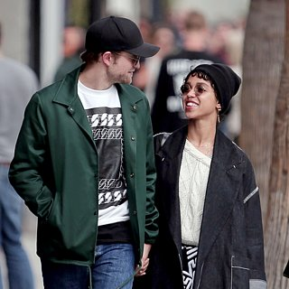 FKA Twigs Wearing Engagement Ring With Rob