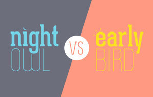 Life According to Morning Birds vs. Night Owls