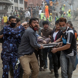 Pictures of 2015 Nepal Earthquake