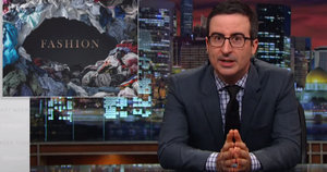 John Oliver Will Make You Rethink That $25 Dress