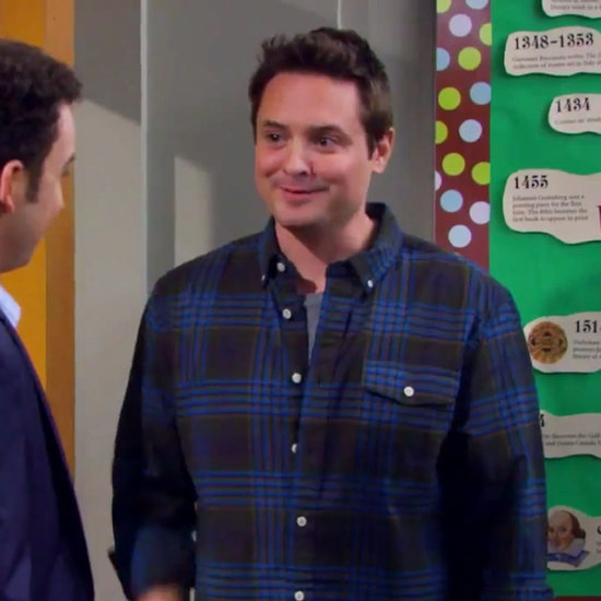 Girl Meets World Promo With Will Friedle and William Daniels