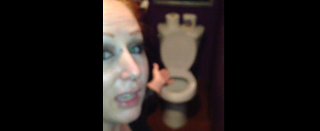 Wait Until You See the Horrible Secret Hidden Inside This Women's Bar Bathroom