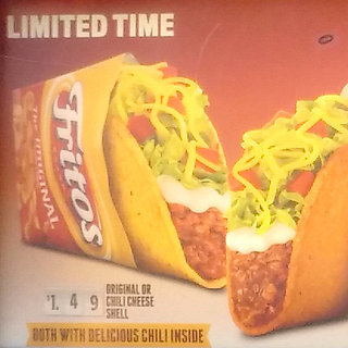 Taco Bell Fritos Taco