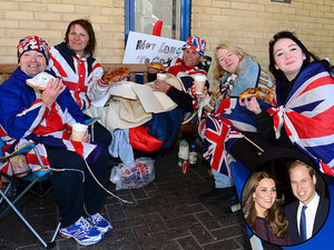 William & Kate Send a Breakfast Surprise to Fans Camped Outside St. Mary's Hospital